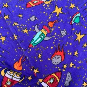 Tween LuLaRoe leggings ROCKETS